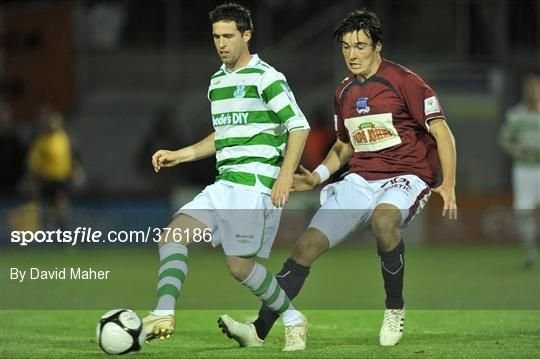 Galway United v Shamrock Rovers - League of Ireland Premier Division