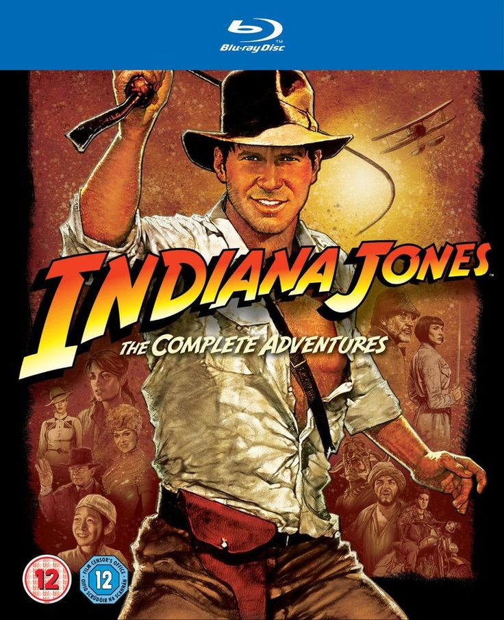 zavvi.com Indiana Jones: The Complete Adventures Blu-ray £18.99