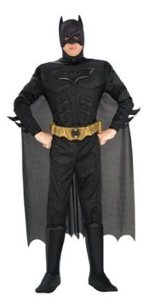 Amazon.com: Rubie's Men's Batman The Dark Knight Rises Costume: Adult Sized Costumes: Clothing
