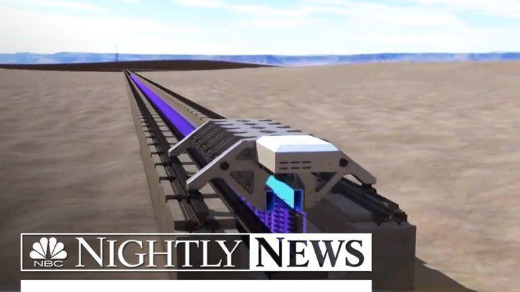 Elon Musk's 'Hyperloop One' Successfully Tests Propulsion System   NBC N...