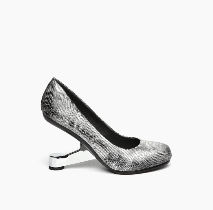 AW15 | United Nude Eamz Pump Silver