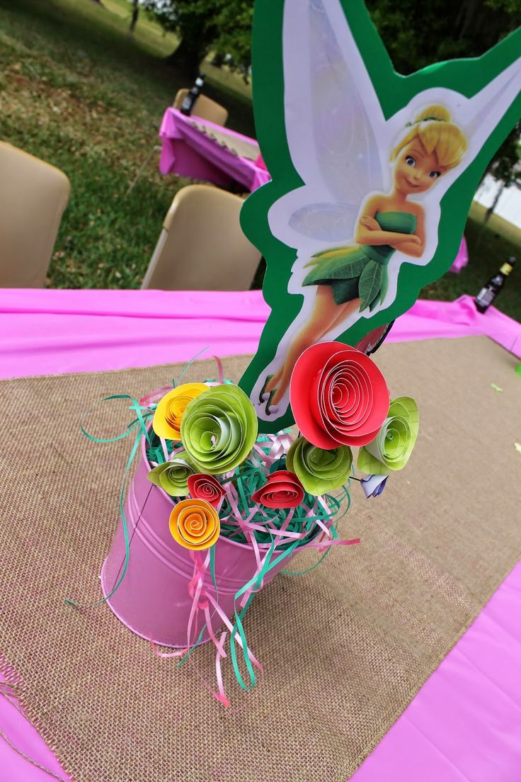 Tinkerbell Party Centerpieces