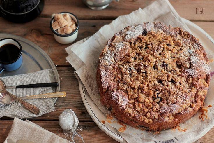 Crumb Cake Myrtilles & Noix – Maryse & Cocotte