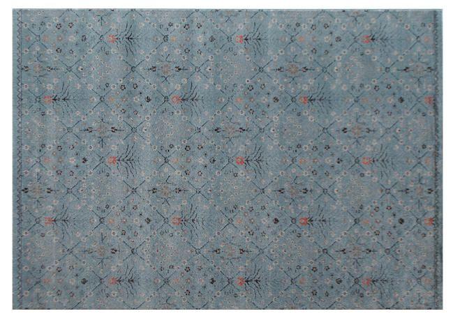 [60×90cm]北欧_草花柄ラグマット(ブルー)(sm-037-01687-BL/Rotta)/ラグ・マット【LIFULL インテリア】家具・インテリアの通販