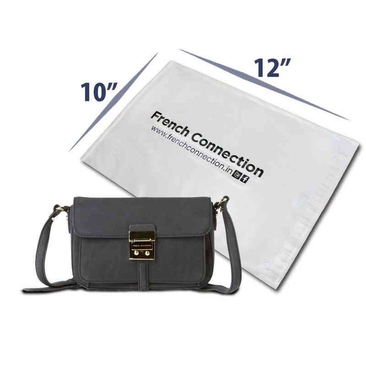 10 X 12 Brand Name and Logo Printed Plastic Courier Bags for Retail Materials Packaging.