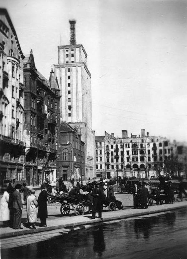 Plac Napoleona, okupacja