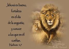 Resultado de imagen para nahum 1:7