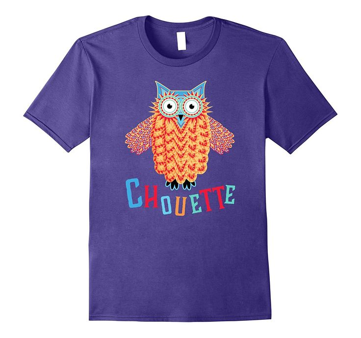 Cute French Owl is Totally Chouette French T-Shirt