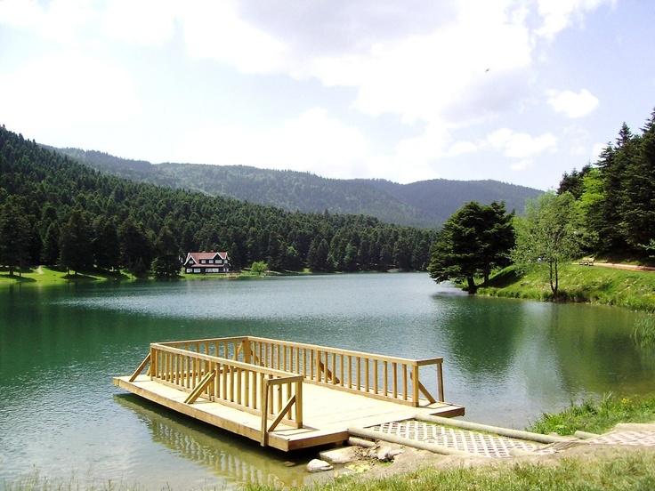 Lake Gölcük   -Spring-    Bolu - TURKEY
