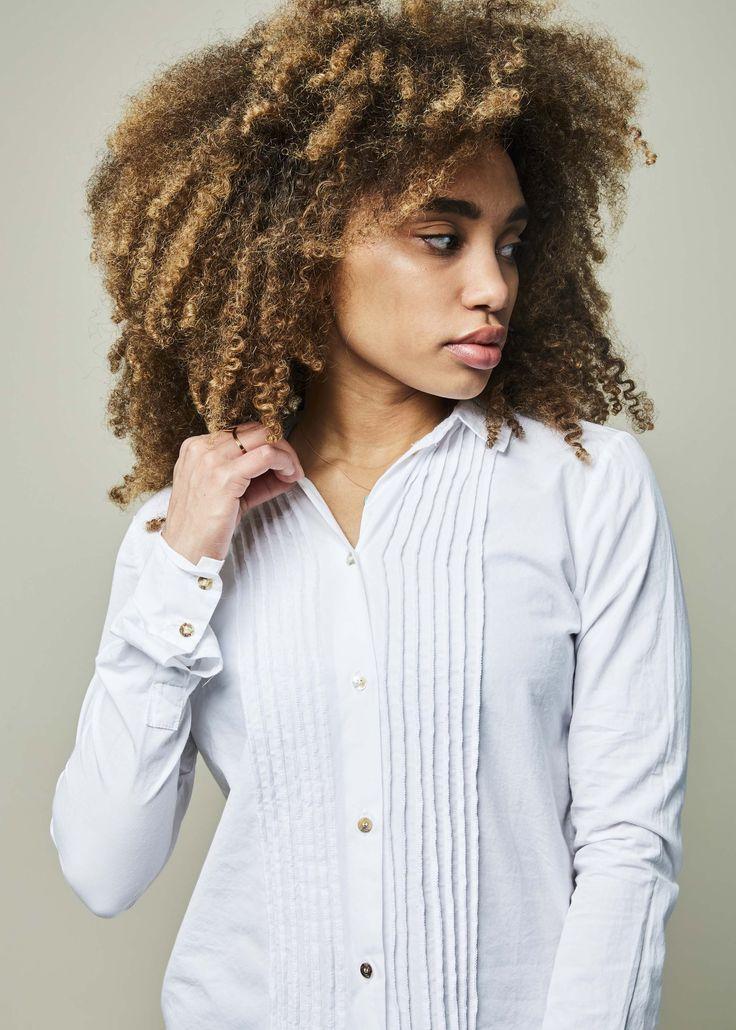 Cotton Tux Shirt