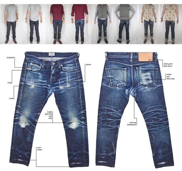 abcdenim: realohioplayer: wear your jeans Wow Raw Jeans, Torn Jeans, Raw Denim, Denim Jeans Men, Denim Ideas, Denim Trends, Edwin Jeans, Star Clothing, Estilo Denim