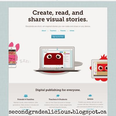 Digital Story Telling - Secondgradealicious