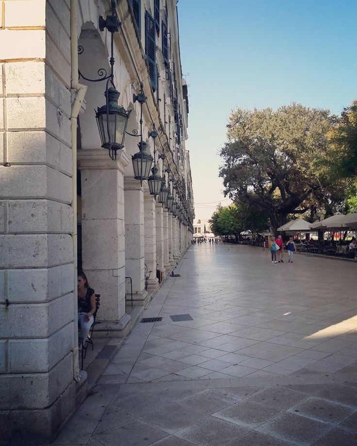 Liston is a part of Espianad/Spianada, the largest square in the Balkans and the main square of Corfu. And of course you can hear all about it on our tour :) #corfu #liston #corfuSightseeing #citySightseeingCorfu #greece
