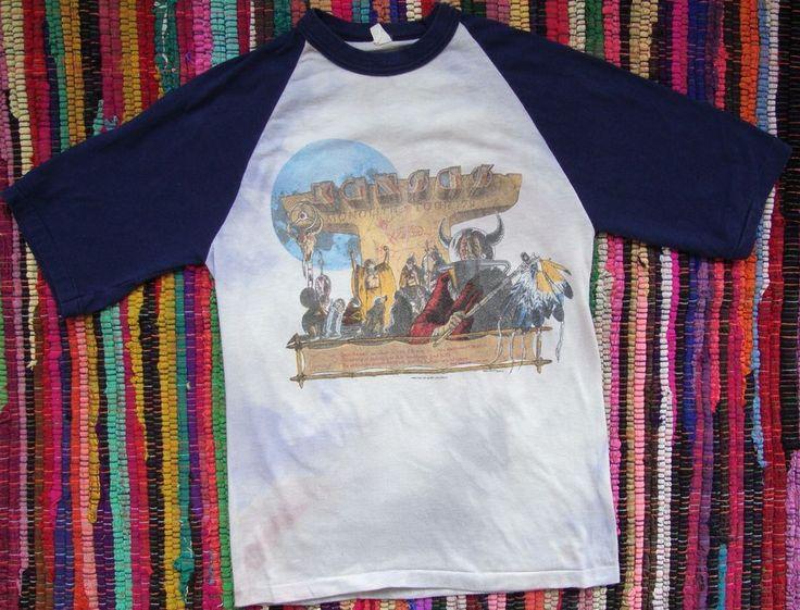 VTG 1979 KANSAS Monolith Tour T-shirt Rock Band Concert Tee 70s Shirt 50/50 THIN #Pamco #RaglanSleeve