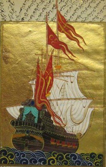 XVI. asra gelindiğinde 3.000 tonluk gemilerde yapılabilindi. 1710'da yine İmparatorluk Türkiyesinde imal edilere Haliç'den denize indirilen bir kalyon (yelkenli büyük harp gemisi) 3.300 mürettebatlı ve dünyanın en büyük teknesiydi