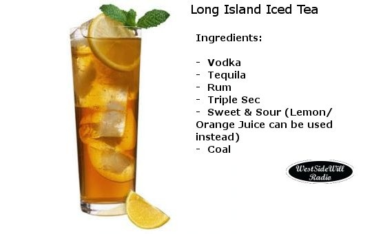 Long island iced tea alkoholgehalt