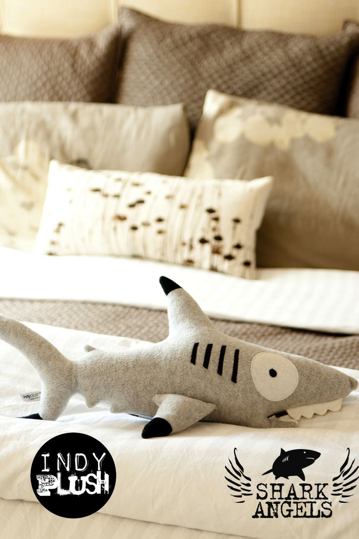 Indyplush Donates 15% Of All Their Shark Plush Sales To Shark Angels Http:/