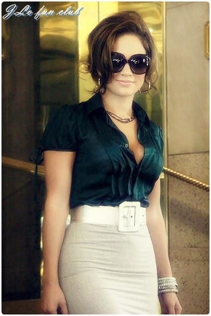 Jennifer Lopez Style im gonna use her style for work
