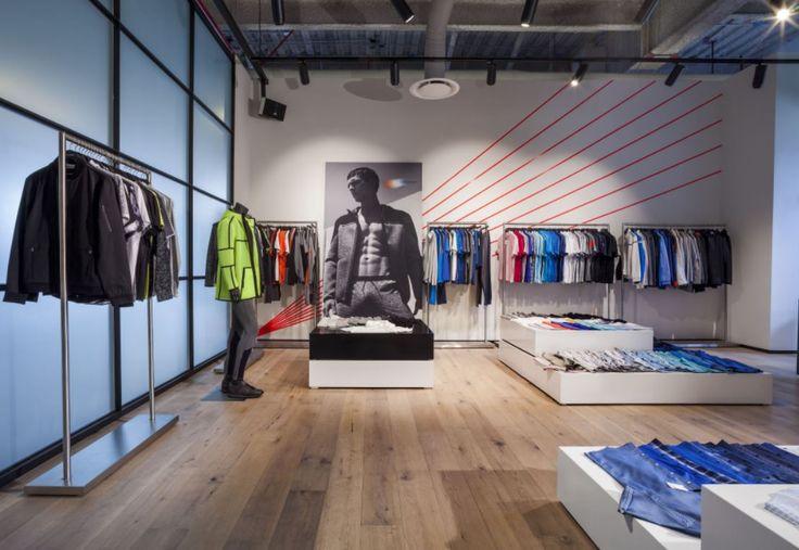 #Showroom Calvin Klein México . #Oficinas . Space Arquitectura   Juan Carlos Baumgartner.  Premio VIII Bienal CIDI Interiorismo, Diseño y Paisajismo