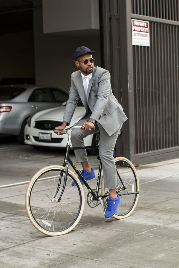 Joshua Woods talks about his personal style on TSB Men