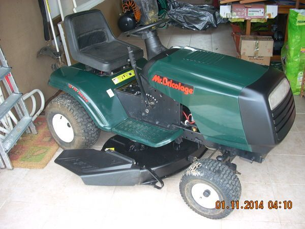 tracteur tondeuse mr bricolage 13cv occasion choses acheter lawn mower outdoor power. Black Bedroom Furniture Sets. Home Design Ideas