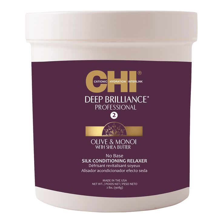 CHI Deep Brilliance Olive & Monoi Silk Conditioning Relaxer 908g.