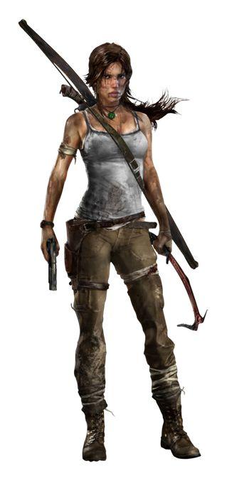 lara croft 2013 character model - Google Search