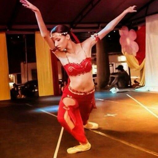 Sharon Chinchilla festival nacional de ballet al parque ciudad de Ocaña.