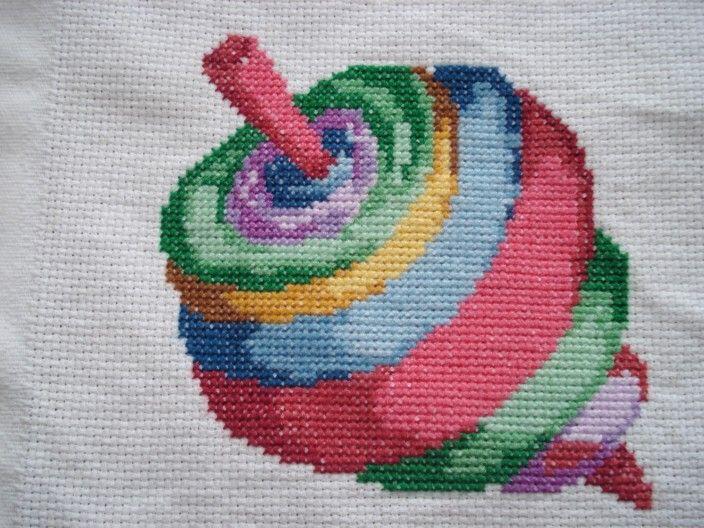 Cross stitch - toy