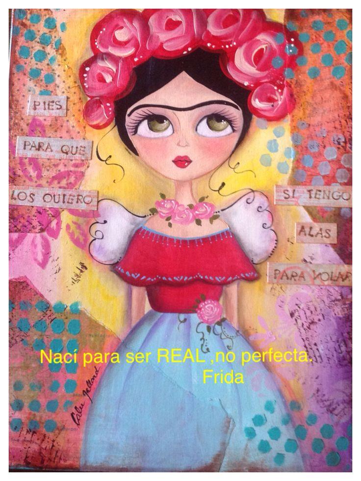 Frida Kahlo por Calu Gallard