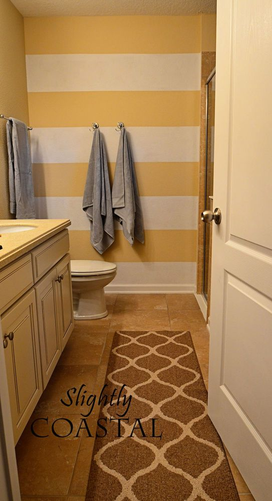 Striped Painted Wall
