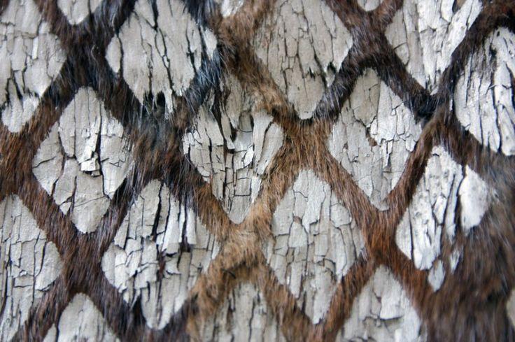Explorations textiles sur le thème Dentelles & Fourrures (FabLab 2013) - Lucie Leroux