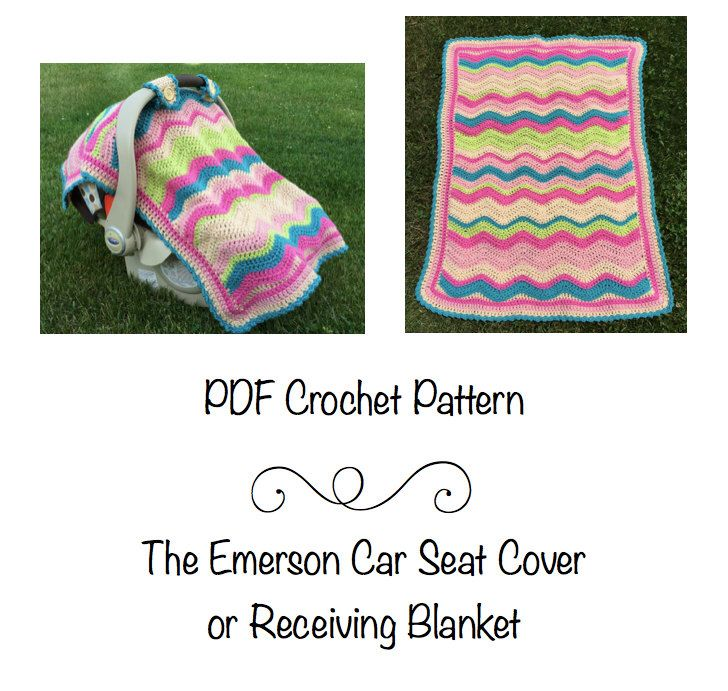 Pdf Pattern Emerson Car Seat Cover Or Baby Blanket