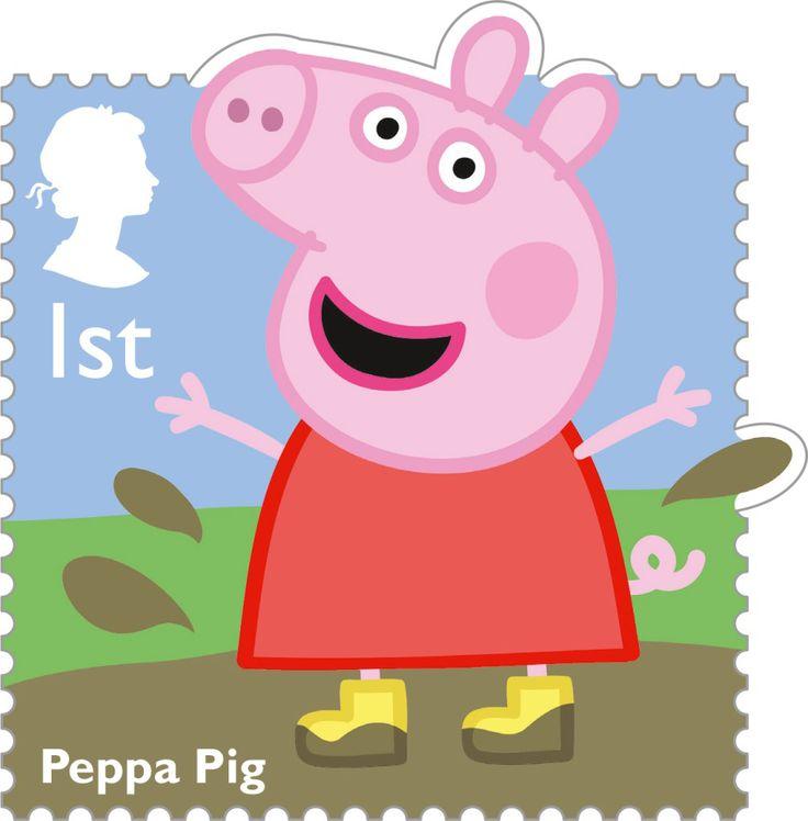 Classic Children's TV 1st Stamp (2014) Peppa Pig