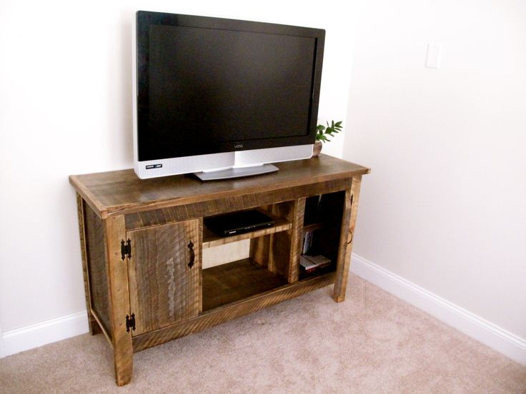 Reclaimed wood TV Cabinet. Quality, handcrafted furniture with creative  character and rustic charm. Built in New Hampshire! Cabinet
