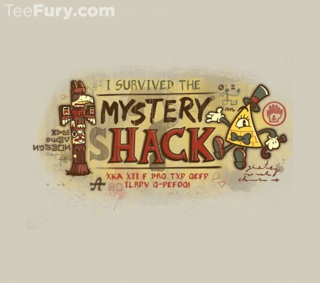 Oregon Famous T-Shirt - Gravity Falls T-Shirt is $17 at TeeFury!
