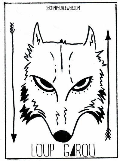25 best ideas about loup garou jeu on pinterest le loup garou jeu jeux de loup garou and - Coloriage du loup ...