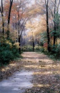 Harvest Morning by Diane Romanello