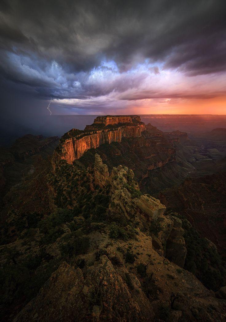 "coiour-my-world: """"Throne of Light"" | MarkMetternich.com ~ Grand Canyon, Arizona """