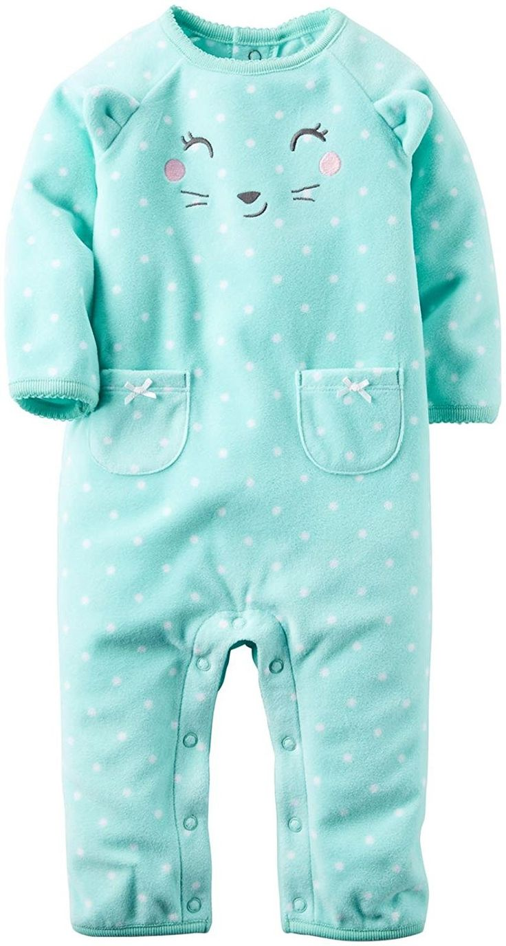 Carter's Baby Girls' 1 Pc 118g633, Turquoise, 24 Months