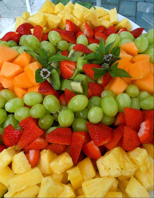 Everyday we have lots of fresh fruit available for all our BLSA girls!