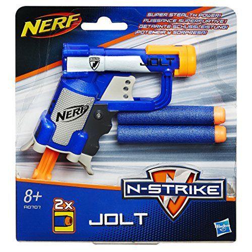 Nerf – 989614920 – Jeu de Plein Air – Elite – Jolt: Prépare-toi pour la bataille avec le pistolet à fléchettes Jolt de Nerf N-Strike Elite.…