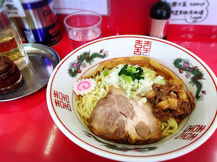 #まぜそば #そのまま→お酢→コチュジャン→余ったお汁で、白飯♡