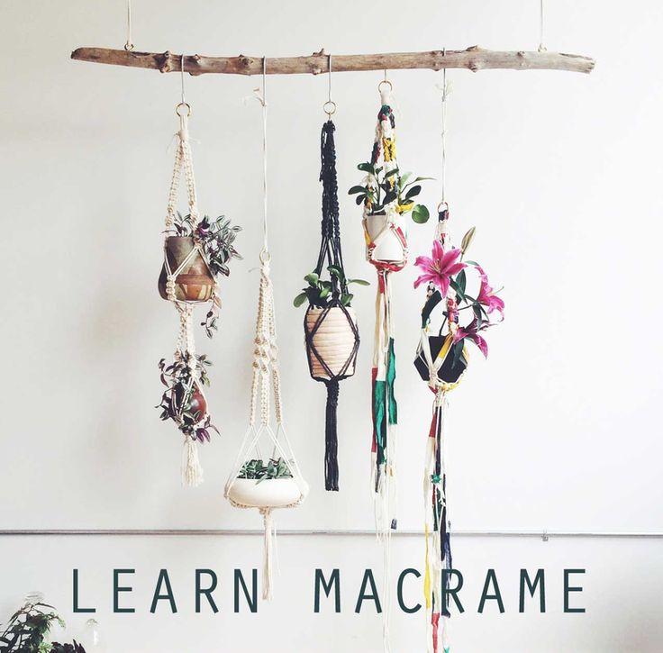 Learn Macrame Online Workshops Classes Team Building