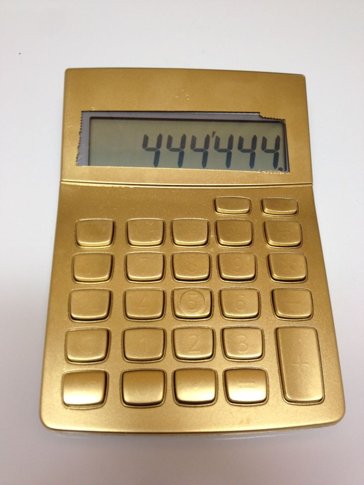 Calculator Gold Everything