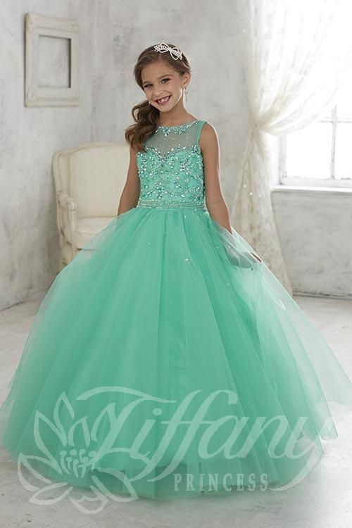 Tiffany Pageant Dresses For Girls 13426