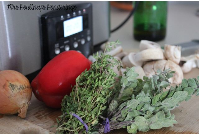 Healthy Eats for Teachers- Chicken Cacciotore