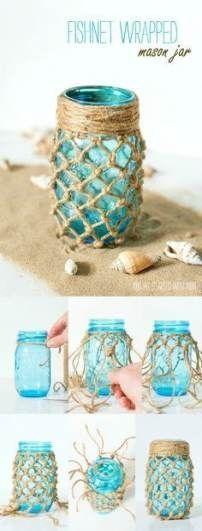 Crafting Mason jars Home 16 Ideas – #smaking #seasming glasses #ideas – #d … – Dekoration Party