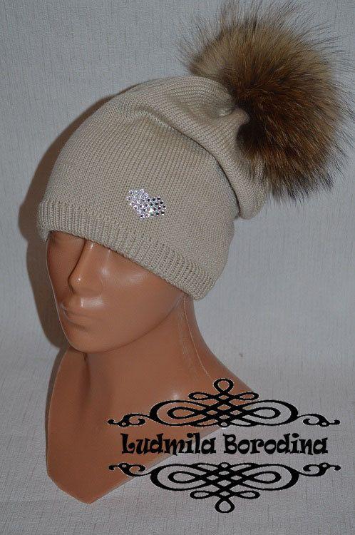 Роскошная мериносовая шапка от LudaBorodina на Etsy, $60.00