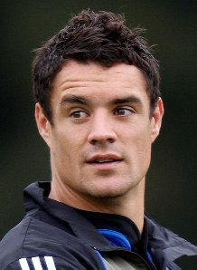 What can I say, die man maak my bele lam & my hubby knows it, lol! Dan Carter NZ rugby player!